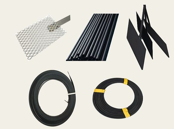 various type of MMO anodes